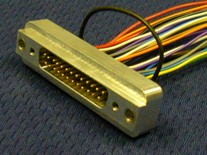 Standard Density D Sub Rectangular Connectors