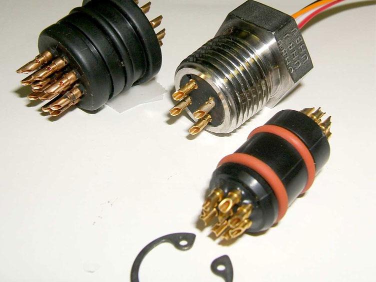 solder cup pin seals